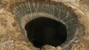 Das schwarze Loch im Permafrost