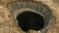 Ursache gefunden: Der Krater im nördlichen Sibirien ist das Ergebnis einer Methan-Explosion.