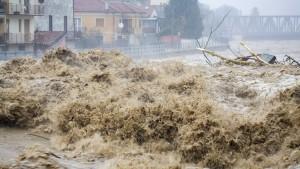 Italien versinkt im Regen
