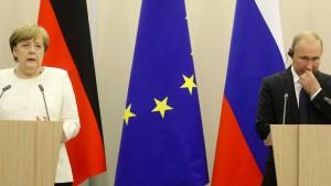 Merkel: Gute Beziehungen zu Moskau sind wichtig