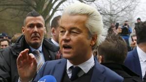 Wilders-Partei verliert an Zustimmung