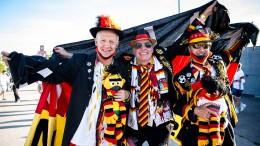 Fans feiern beim deutschen EM-Start in München