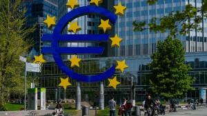 EU und Banken bieten in Euro nur geringe Renditen