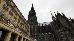 Kölner Dom wird wieder geöffnet