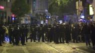 Die Polizei im Einsatz in Bremen