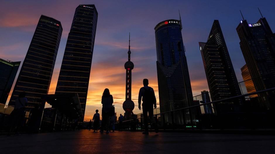 Nach oben – und zwar schnell: Schanghai ist eines der wirtschaftlichen Epizentren in China.