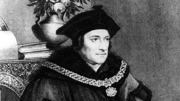 Thomas Morus / Stich nach Holbein - Thomas Morus / Engraving after Holbein - Thomas Morus / Gravure d'ap. Holbein