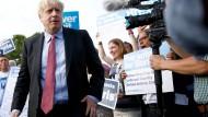 Der neue Vorsitzende der Tories? Boris Johnson in Maidstone