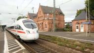 Störenfried: Gelnhausen fürchtet mehr Lärm durch den Streckenausbau.