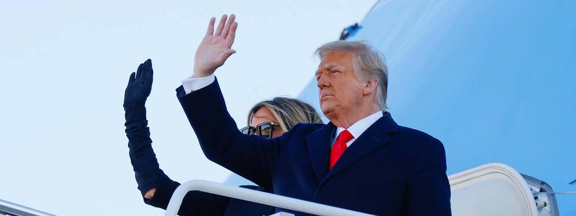 Trumps vorerst letzte Show