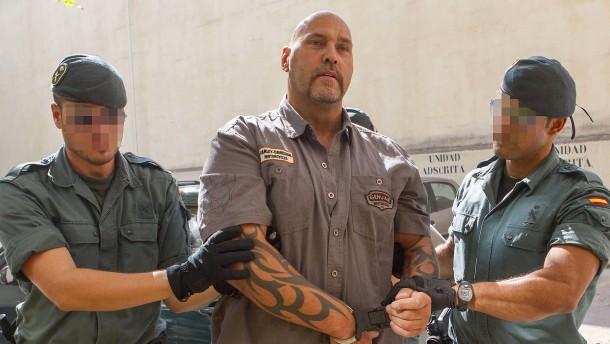 Rockerboss Hanebuth droht in Spanien lange Haftstrafe
