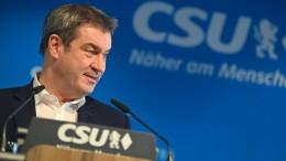 Söder unterstützt Laschets Kanzlerkandidatur