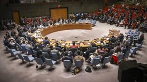 Amerika verursacht Eklat um UN-Sicherheitsratsresolution