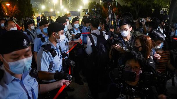 Tiananmen-Gedenken in Hongkong