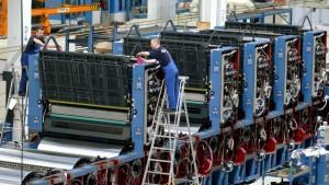 Industrie kommt wegen Lieferengpässen nicht hinterher