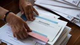 Wahllokale geöffnet +++ Mehr unbefristete Stellen an Hochschulen