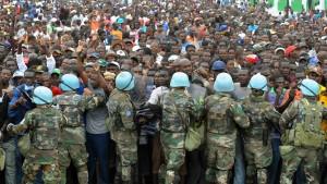 Blauhelme sollen für Hilfsgüter sexuelle Handlungen verlangt haben