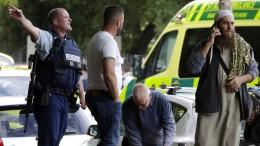 """Ardern spricht von """"beispiellosen Gewaltakt"""""""