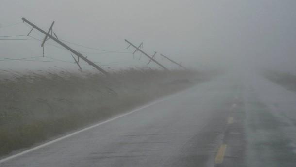 Hurrikan Delta wütet an Amerikas Golfküste