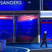 Ende der Revolution? Sanders-Anhänger wollen sich nicht damit abfinden, dass ihr Idol die Bühne verlässt.