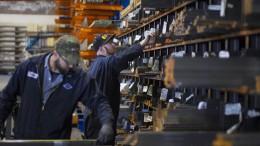 Amerikanische Stahlarbeiter begeistert von Strafzöllen