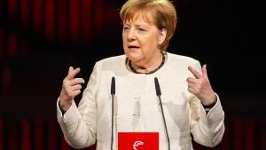 Merkel gegen Ausschluss chinesischer Unternehmen bei 5G-Ausbau