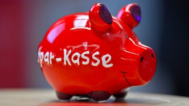 Mehr Negativzinsen in Ostdeutschland