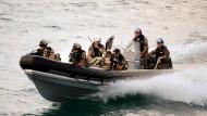 Am Horn von Afrika: Bundeswehrsoldaten auf See vor Dschibuti