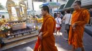 Schrein in Bangkok nach Anschlag wieder eröffnet