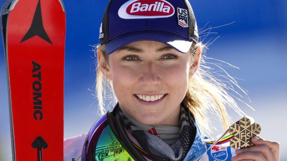 Mikaela Shiffrin: Will in dieser Saison auch wieder bei den schnellen Abfahrten unterwegs sein.