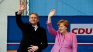 Merkel-Effekt schlägt Schulz-Effekt