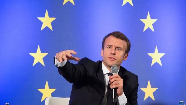 Warum Macrons Flirt mit Europa nicht abrupt enden sollte