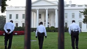 Höherer Zaun für das Weiße Haus