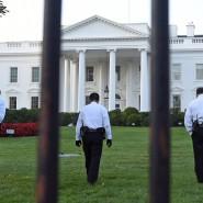 Der Zaun vor dem Weißen Haus in Washington soll höher werden und auch keine Querverstrebungen mehr haben.