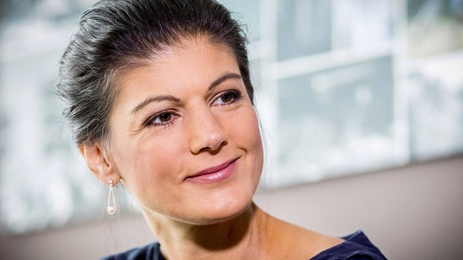Wertkonservative Linke: Sahra Wagenknecht