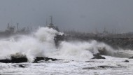 Hudhud verwüstet indische Küste
