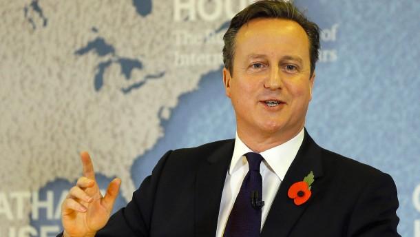 Cameron will Freizügigkeit einschränken
