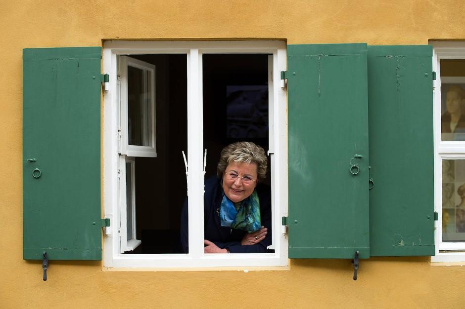 Maria Elisabeth Gräfin Thun-Fugger steht den Fuggerschen Stiftungen vor.