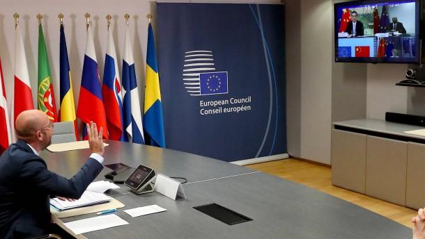 Europa redet Tacheles mit Peking