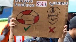 """München demonstriert gegen Kurs der CSU und """"Rechtsruck"""""""