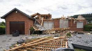 Tornado richtet große Schäden an