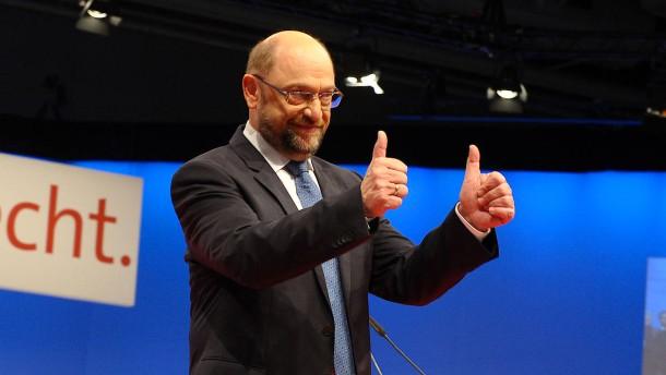 """SPD stimmt für """"ergebnisoffene"""" Gespräche mit der Union"""