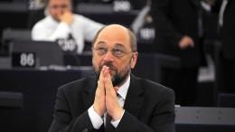 Union gegen Schulz' Europa-Plan