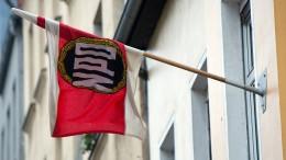 NPD soll von Parteienfinanzierung ausgeschlossen werden