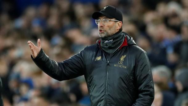 Liverpool und Klopp verspielen Tabellenführung