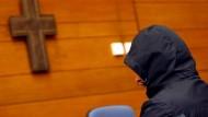 Fahrdienstleiter Michael P. beim Gerichtsverfahren im süddeutschen Traunstein.