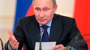 Putin wirft EU Erpressung vor