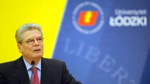 Gauck will sich für deutsch-polnisches Verhältnis einsetzen