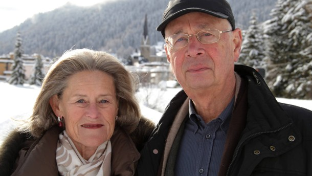 Klaus and Hilde Schwab