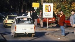 Als Gorbatschow die Mauer öffnete